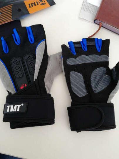 TMT 健身手套男女运动健身房器械训练 w13升级护腕款(一双装) XL 晒单图