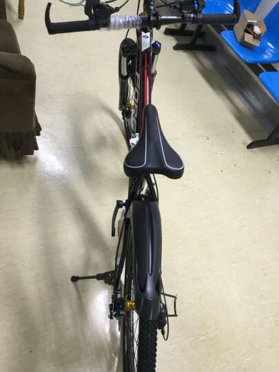 永久(FOREVER) 永久自行车27/30速26寸铝合金朝阳轮胎/变速一体轮山地车660 27速标准版-黑绿色 晒单图