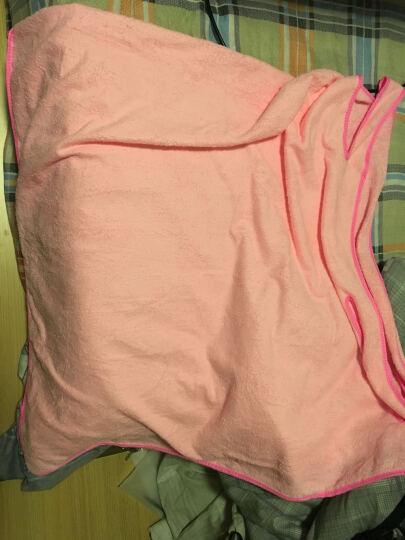 名佑 浴巾 百变浴巾 可穿浴巾 强吸水百变魔术浴袍 多款选择  男女通用款 粉红色 W 晒单图