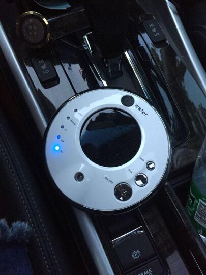 江南绣车载空气净化器太阳能汽车空气净化器负离子氧吧除异味香薰加湿器 激情红+送车充+精油 晒单图