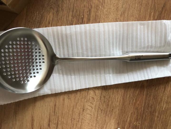 炊大皇漏勺304不锈钢滤勺加厚长柄网勺油炸勺捞面条 晒单图