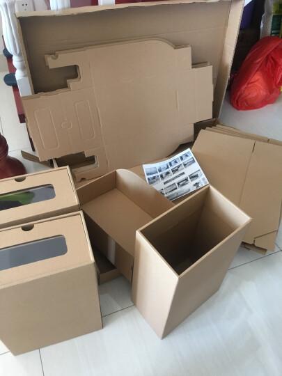 鞋盒透明抽屉式纸盒整理盒环保加厚桌面收纳盒鞋子包装盒靴盒男女鞋盒收纳箱收纳盒储物盒 男鞋A款10个 晒单图