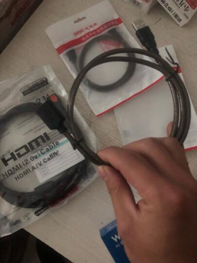 优越者(UNITEK)usb延长线 公对母数据线转接线 AM/AF 电脑USB/U盘鼠标键盘耳机加长线1米黑色Y-C428 晒单图