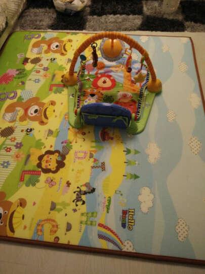 【韩国原装进口】帕克伦(Parklon)爬行垫XPE环保婴儿玩具泡沫地垫加厚宝宝爬爬垫 小熊谜语-单面图案 韩国原装进口 晒单图