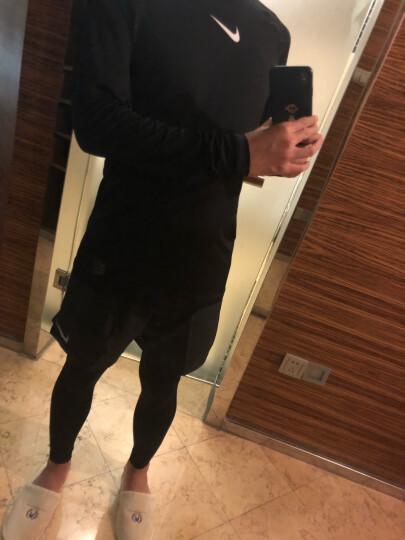 TZ 耐克NIKE男装健身二件套 2019夏季新品运动服休闲圆领跑步训练快干短袖T恤宽松五分裤短裤 AJ8003-010+CI9899-010 L/175 晒单图