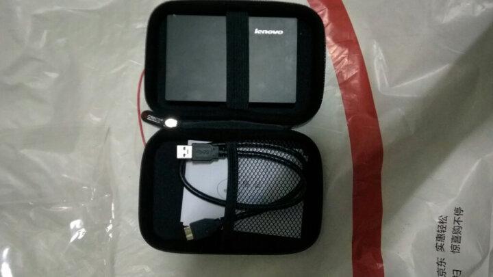 奥睿科(ORICO) PHD 2.5英寸多功能移动硬盘保护包 数码收纳包移动电源保护包 黑色 晒单图