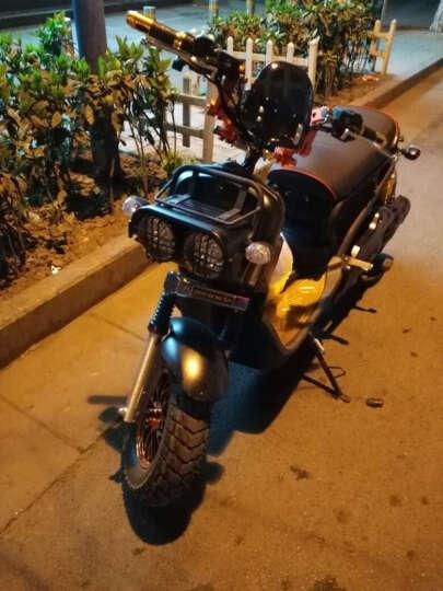 日杰(RIJIE)祖玛电动车电动摩托车电瓶车1800W72V踏板摩托车电车电摩军绿色 磨砂黑 超威72v20A 6个电瓶 晒单图