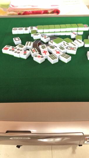 百代麻将机 全自动折叠餐桌两用电动麻将桌 家用静音四口机麻将桌 【厂送】至尊版XA80-香槟边框-手动折叠 下单请提前咨询客服麻将牌型号,拍错好麻烦的~ 晒单图