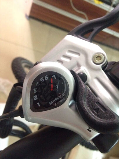 骑达(RBIKE) RBIKE骑达R7KOMDA联合26寸智能助力自行车可折叠电动自行车 白色 晒单图