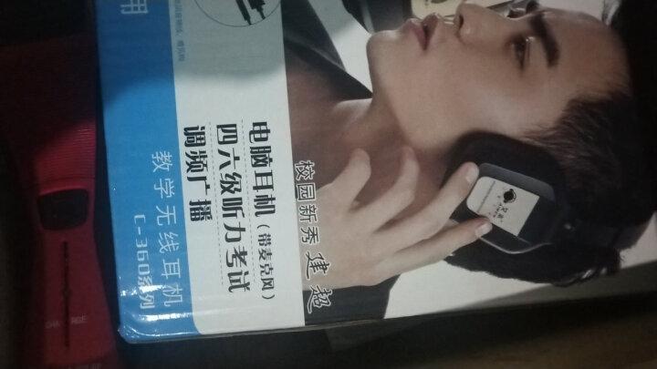 艾本(AIBEN) 四级听力耳机头戴式英语四六级考试耳机 无线红外调频FM大学音频正品 考试专用耳机 360B【红外2.3/2.8】+调频+音频 晒单图