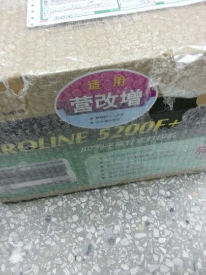 OKI 5200F+快递单营改增税控发票票据针式打印机80列平推式( 支持82列打印) 官方标配 晒单图