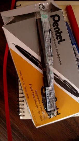 PENTEL派通S520签字笔 手绘笔 勾线笔 速写笔 草图笔 建筑设计笔sign pen 黑色 12支 晒单图