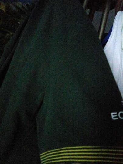 361度男装卫衣2017秋新款长袖T恤男361圆领套头衫男 油漆蓝 M 晒单图