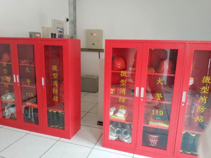 金篆(JINZHUAN) 微型消防站专用柜消防柜工具柜消防器材柜应急消防箱展示柜物业柜 1600*1200*390标准消防器材套餐 晒单图