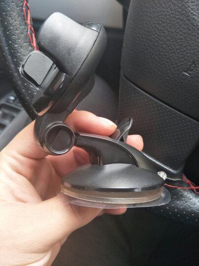 轩之梦 汽车手机支架吸盘车载手机支架多功能汽车用手机座GPS导航仪懒人手机架夹 黑色 晒单图