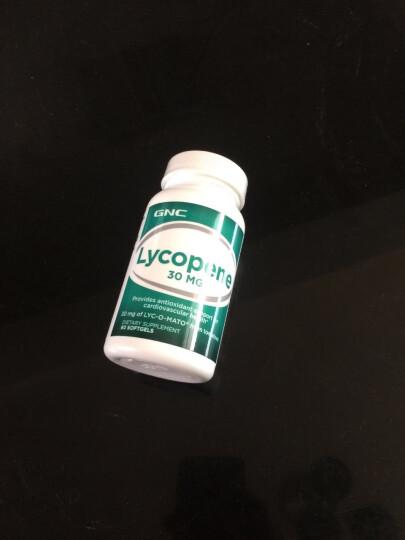 GNC 健安喜番茄红素软胶囊30mg 60粒 蕃茄红素lycopene 抗氧化男士备孕美国进口 晒单图