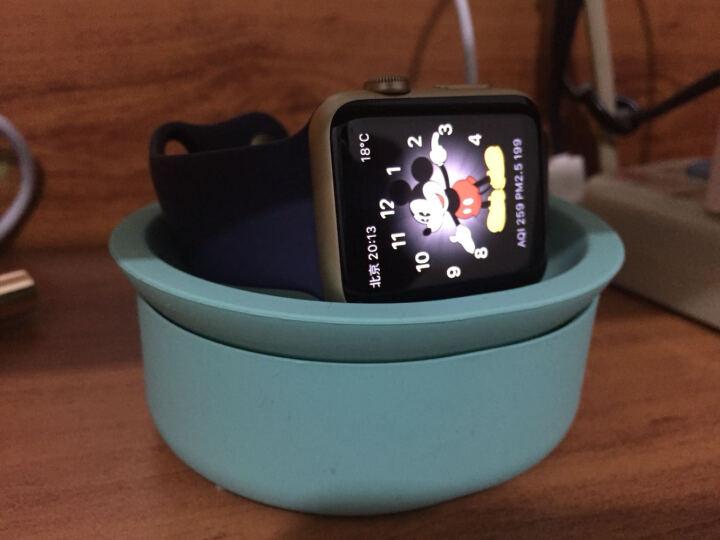 JCPAL Apple Watch充电碗支架 苹果智能手表支架 充电底座 线材整理器 绿色 Apple Watch 晒单图