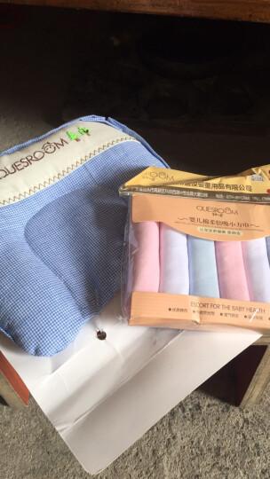 芊婴小屋(Quesroom) 新生婴儿定型枕头0-1岁决明子枕棉麻套纠正防偏头婴儿用品 卡琪 晒单图