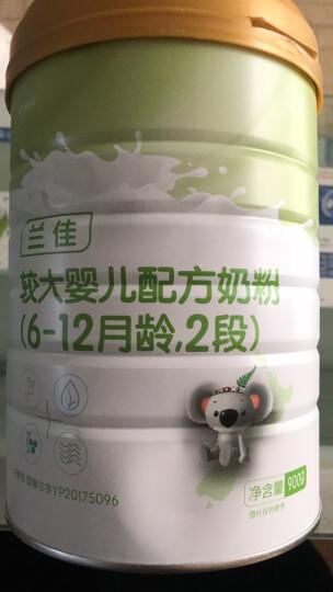 咔哇熊(Cowala) 超级金装幼儿配方奶粉900g新西兰原罐进口3段 OPO2段*3罐装 晒单图
