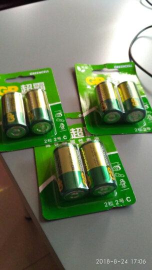 超霸(GP)14G-2IL2碳性电池2号中号2节装燃气灶燃气热水器手电筒R14P 晒单图