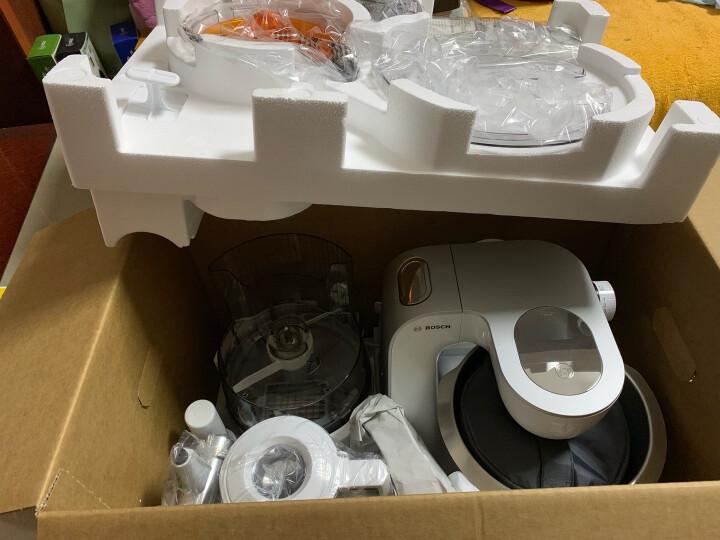博世(BOSCH) 多功能厨师机MUM57860 和面揉面搅拌商用家用料理机 食物处理器 MUM58020 薄荷绿 晒单图