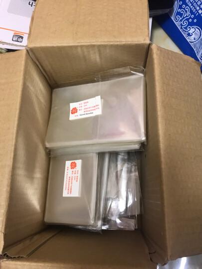 殷氏护邮袋  邮票保护袋  纸币保护袋 多规格可选一个尺寸100张装 小票单个尺寸4*5.5cm 晒单图