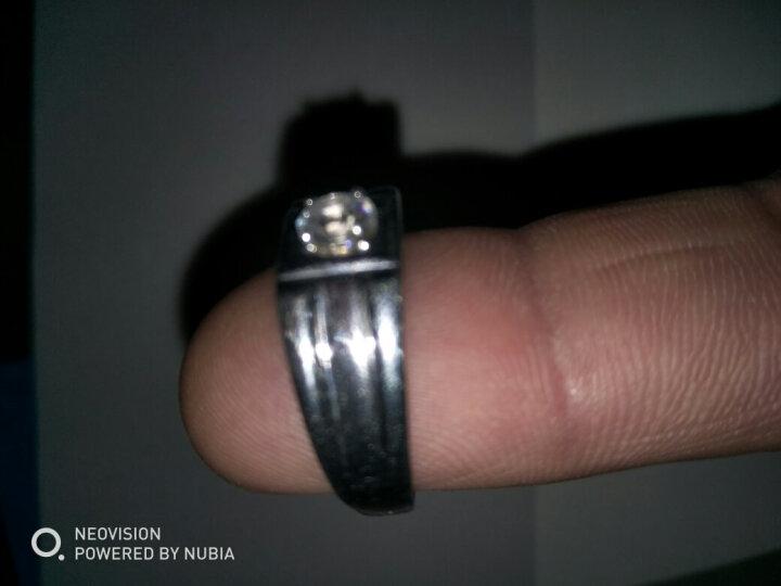 瑞诺 925银男士戒指 男款指环伯爵戒时尚霸气饰品 小款伯爵开口戒(可调15-22) 晒单图