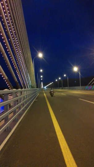美蒂亚摩托车灯夜骑自行车灯骑行手电筒强光车前灯防水usb可充电山地车配件 绿色 晒单图