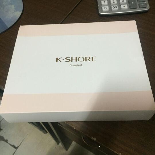 金号毛巾礼盒 纯棉条纹面巾2条装1809 1736粉色礼盒 2条装+礼盒 晒单图