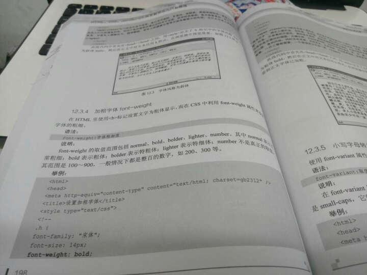 HTML CSS JavaScript网页制作从入门到精通(异步图书出品) 晒单图