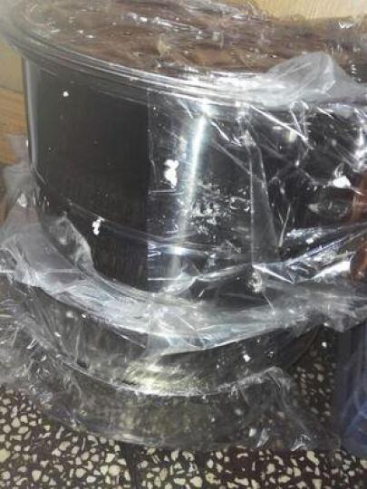 嘉能不锈钢蒸锅28-32cm复底二层三层四层蒸屉 煤气电磁炉通用 32cm(美式双层) 晒单图
