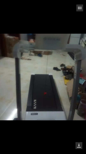 舒华跑步机A3跑步机可折叠智能跑步机家用款微信互联静音迷你运动健身器材SH-T3300跑步机 珍珠白 【微信互联+全国联保+白条免息】 晒单图