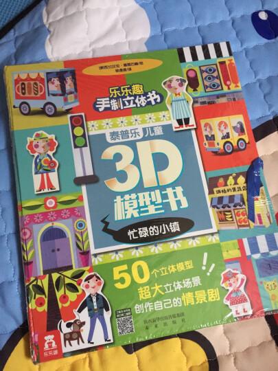 泰普乐儿童3D模型书(套装共2册) 晒单图