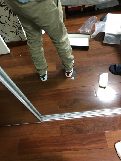 GUCCI古驰男鞋牛皮蜜蜂刺绣运动休闲鞋小白鞋429446 02JP0 9064【预售10-15天】 41 晒单图