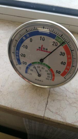 雨花泽(Yuhuaze)美式复古风指针式温湿度计 大表盘室内外温度计湿度计 台式挂式两用 晒单图