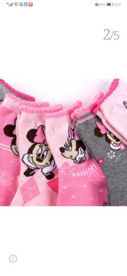 迪士尼(Disney)儿童袜子纯棉 秋冬棉质袜子 小孩宝宝全棉中筒袜 男女童袜子 女款6双 建议脚长20-22cm 晒单图