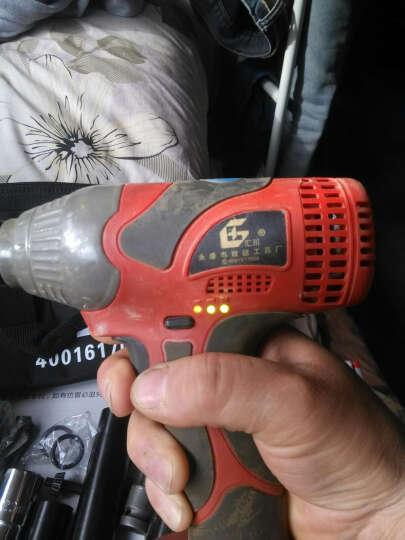 汇川无刷充电扳手冲击扳手锂电扳手电动扳手 架子工专用扳手 无刷进口电机6000毫安二电一充 晒单图