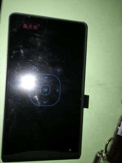 轰天炮(Poner Saund)家用高清办公无线wifi投影仪 手持便携微型手机无屏电视 黑色 标准版 晒单图