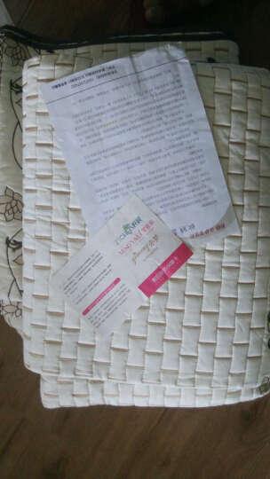 梦雅莉  沙发垫四季通用布艺沙发套罩全包套全盖坐垫简约现代 刺绣玫瑰灰-MYL 90cm*70cm单条装 晒单图