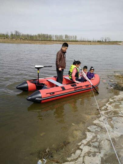 电动推进器皮划艇船外机橡皮艇马达舷外机发动机挂桨 12V60磅马达+支架 晒单图