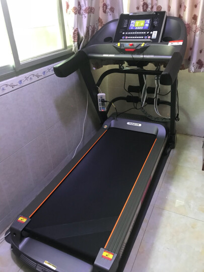 亿健(YIJIAN)跑步机 家用静音折叠健身器材 【欧盟认证】8008A/S 蓝屏多功能 上楼包安装 晒单图