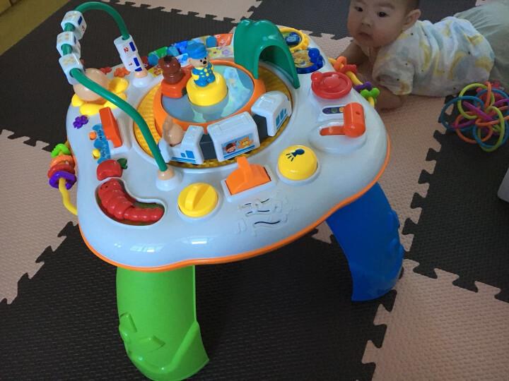 谷雨儿童游戏桌 宝宝益智早教中英双语多功能学习桌 充电版游戏桌 晒单图
