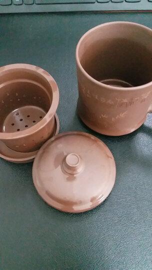 尊壶 宜兴紫砂杯带过滤内胆非陶瓷茶杯450ml 紫砂茶杯手工 四件套礼盒 晒单图