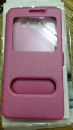 艾动力 手机蚕丝皮套保护壳手机套 适用于三星Galaxy A7/a7000/a7100 2015款A7-黑色-A7000 晒单图