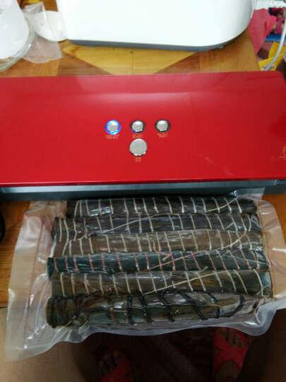 辛巴迪(sunbuddy) 达派全自动真空机包装机 家用商用食品茶叶抽真空封口机塑封机 红色 晒单图