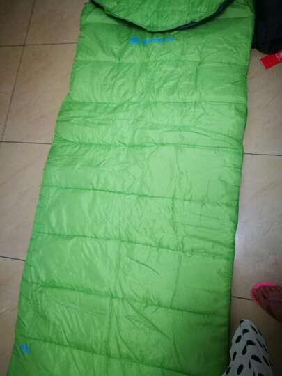 探路者(TOREAD) 探路者户外装备信封式打开可做被褥填充220g棉睡袋 青果绿 晒单图