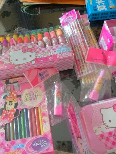 HelloKitty凯蒂猫大容量水彩笔袋装环保可水洗水彩笔36色-入PVC袋儿童绘画工 PS-HK0066A粉红 晒单图