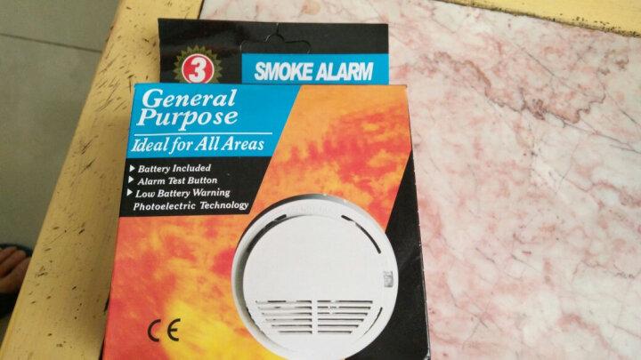 烟雾报警器消防火灾探测器家用无线烟雾感应器独立式烟感器探测器 F款普通烟雾报警器 晒单图