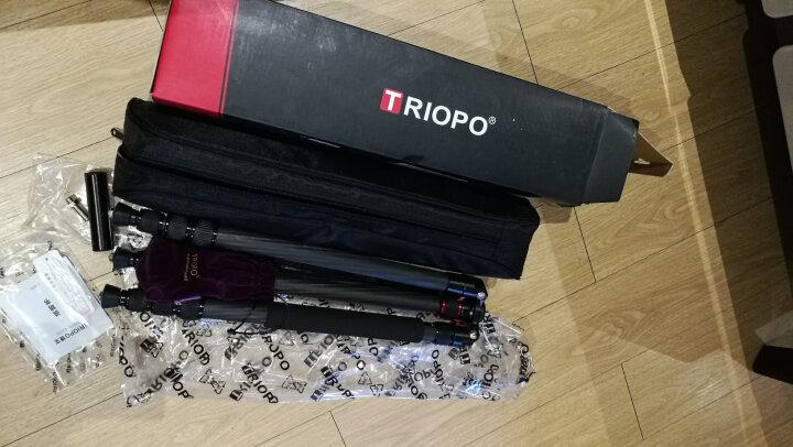 捷宝(TRIOPO)T258G 轻便携单反相机三角架云台套装 佳能尼康微摄影像机 晒单图