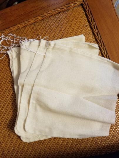 厨格格 煲汤袋煲鱼袋隔渣袋全棉纱布袋过滤袋炖肉调料袋 (20*25cm)10个 晒单图